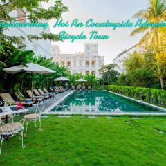 Отель Hoi An Garden Palace & Spa бассейн