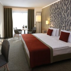 Отель Ensana Thermal Aqua Венгрия, Хевиз - 9 отзывов об отеле, цены и фото номеров - забронировать отель Ensana Thermal Aqua онлайн комната для гостей фото 3
