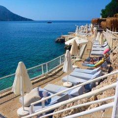 Oasis Hotel Турция, Калкан - отзывы, цены и фото номеров - забронировать отель Oasis Hotel онлайн пляж