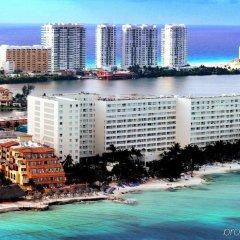 Отель Grand Oasis Viva - Adults Only Мексика, Канкун - 2 отзыва об отеле, цены и фото номеров - забронировать отель Grand Oasis Viva - Adults Only онлайн пляж фото 2