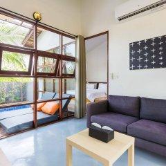 Отель Baan Talay Pool Villa Таиланд, Самуи - отзывы, цены и фото номеров - забронировать отель Baan Talay Pool Villa онлайн комната для гостей фото 5