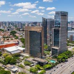 Отель Grand Hyatt Sao Paulo балкон