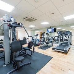Отель The RE London Shoreditch фитнесс-зал