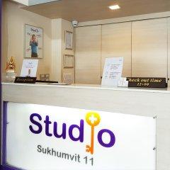Апартаменты Studio Sukhumvit 11 By Icheck Бангкок интерьер отеля фото 2