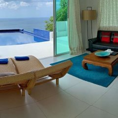 Отель Grand Bleu Ocean View Pool Suite комната для гостей фото 7