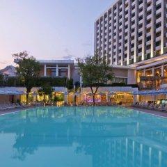 Отель Hilton Athens Греция, Афины - отзывы, цены и фото номеров - забронировать отель Hilton Athens онлайн бассейн фото 3