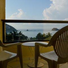 Отель Fontan Ixtapa Beach Resort балкон