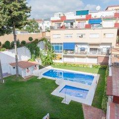Отель MalagaSuite Beach Relax & Terrace Торремолинос бассейн