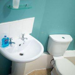 Отель The Maple Hotel Великобритания, Ливерпуль - отзывы, цены и фото номеров - забронировать отель The Maple Hotel онлайн ванная фото 2
