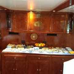 Отель Yacht Fortebraccio Venezia питание