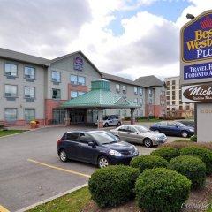 Отель Best Western Plus Travel Hotel Toronto Airport Канада, Торонто - отзывы, цены и фото номеров - забронировать отель Best Western Plus Travel Hotel Toronto Airport онлайн парковка