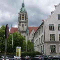 Отель Munich Aparthotel Мюнхен парковка