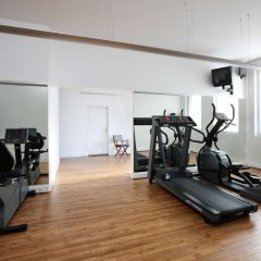 Отель Nh Brugge Брюгге фитнесс-зал