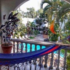 Отель Camino Maya Ciudad Blanca Гондурас, Копан-Руинас - отзывы, цены и фото номеров - забронировать отель Camino Maya Ciudad Blanca онлайн балкон