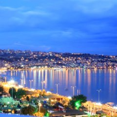 AlaDeniz Hotel Турция, Бююкчекмедже - отзывы, цены и фото номеров - забронировать отель AlaDeniz Hotel онлайн пляж фото 2