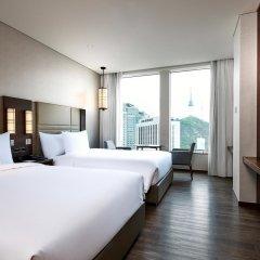 Отель Courtyard by Marriott Seoul Namdaemun Южная Корея, Сеул - отзывы, цены и фото номеров - забронировать отель Courtyard by Marriott Seoul Namdaemun онлайн комната для гостей фото 5