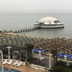 Апартаменты Apartment With 2 Bedrooms in Durrës, With Wonderful sea View and Furnished Terrace - 10 m From the Beach Дуррес пляж