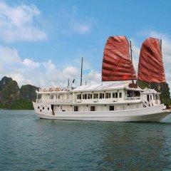 Отель Aclass Cruise Halong Вьетнам, Халонг - отзывы, цены и фото номеров - забронировать отель Aclass Cruise Halong онлайн приотельная территория