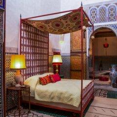 Отель Le Jardin Des Biehn Марокко, Фес - отзывы, цены и фото номеров - забронировать отель Le Jardin Des Biehn онлайн комната для гостей фото 2