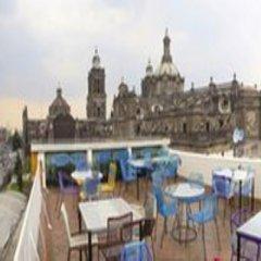 Отель Mexiqui Zocalo Мексика, Мехико - отзывы, цены и фото номеров - забронировать отель Mexiqui Zocalo онлайн бассейн