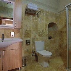 Vezir Cave Suites Турция, Гёреме - 1 отзыв об отеле, цены и фото номеров - забронировать отель Vezir Cave Suites онлайн ванная фото 2
