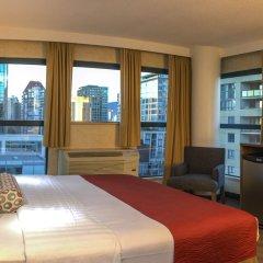 Отель GEC Granville Suites Downtown Канада, Ванкувер - отзывы, цены и фото номеров - забронировать отель GEC Granville Suites Downtown онлайн комната для гостей фото 4