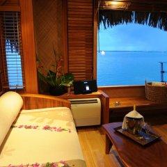Отель Le Taha'a Island Resort & Spa сауна