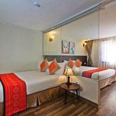 Отель Hoang Ha Sapa Hotel Вьетнам, Шапа - отзывы, цены и фото номеров - забронировать отель Hoang Ha Sapa Hotel онлайн комната для гостей фото 2