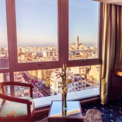 Отель Idou Anfa Hotel Марокко, Касабланка - отзывы, цены и фото номеров - забронировать отель Idou Anfa Hotel онлайн комната для гостей фото 2