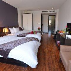 Отель Golden Sun Suites Hotel Вьетнам, Ханой - отзывы, цены и фото номеров - забронировать отель Golden Sun Suites Hotel онлайн комната для гостей фото 3