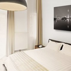 Отель The Red Дюссельдорф комната для гостей фото 2