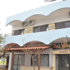 Minoa Hotel вид на фасад