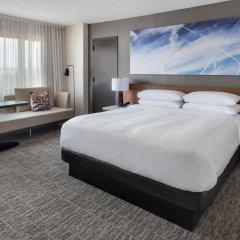 Отель Newark Liberty International Airport Marriott США, Ньюарк - отзывы, цены и фото номеров - забронировать отель Newark Liberty International Airport Marriott онлайн комната для гостей фото 4
