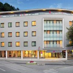 Отель Star Inn Hotel Salzburg Zentrum, by Comfort Австрия, Зальцбург - 7 отзывов об отеле, цены и фото номеров - забронировать отель Star Inn Hotel Salzburg Zentrum, by Comfort онлайн вид на фасад