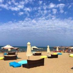 Отель Tropikal Resort Албания, Дуррес - отзывы, цены и фото номеров - забронировать отель Tropikal Resort онлайн пляж фото 2