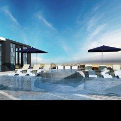 Отель Hilton Guadalajara Midtown Мексика, Гвадалахара - отзывы, цены и фото номеров - забронировать отель Hilton Guadalajara Midtown онлайн бассейн фото 2