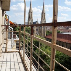 Апартаменты Rakoczi Boulevard Apartments балкон