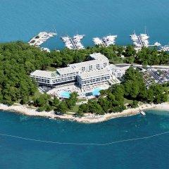 Hotel Laguna Parentium пляж