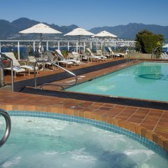 Отель Pan Pacific Vancouver Канада, Ванкувер - отзывы, цены и фото номеров - забронировать отель Pan Pacific Vancouver онлайн бассейн фото 3