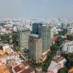 Отель InterContinental Saigon Вьетнам, Хошимин - отзывы, цены и фото номеров - забронировать отель InterContinental Saigon онлайн балкон