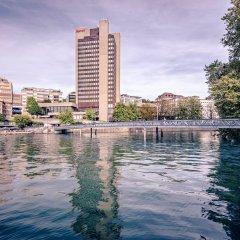 Zurich Marriott Hotel бассейн