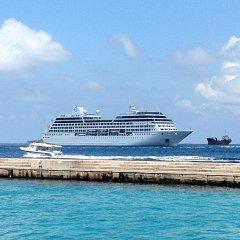 Отель Kaani Lodge Мальдивы, Северный атолл Мале - 1 отзыв об отеле, цены и фото номеров - забронировать отель Kaani Lodge онлайн пляж
