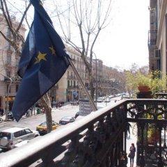 Отель Hostal Delfos балкон