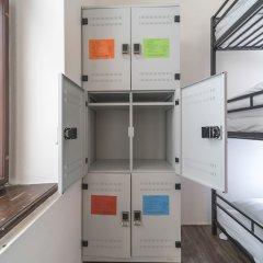Hostel Orange сейф в номере