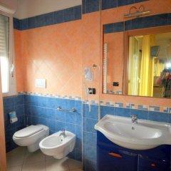 Отель Residence Beach Paradise Римини ванная фото 2