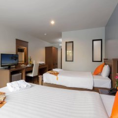 Bhukitta Hotel & Spa сейф в номере