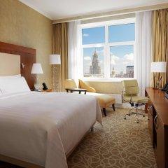 Гостиница Marriott Novy Arbat Москва комната для гостей