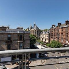 Апартаменты Hillhead Apartment with Roof terrace Глазго балкон