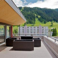 Отель Grischa - DAS Hotel Davos Швейцария, Давос - отзывы, цены и фото номеров - забронировать отель Grischa - DAS Hotel Davos онлайн балкон