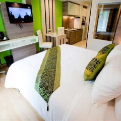 Отель Icheck Inn Residence Sukhumvit 20 Бангкок комната для гостей фото 2